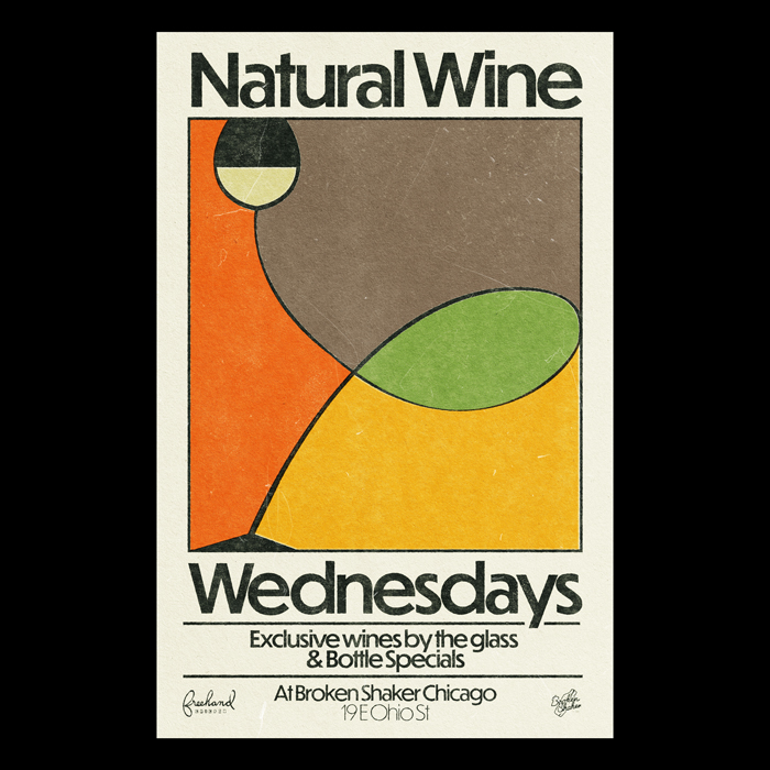 Natural Wine Wednesdays at Broken Shaker