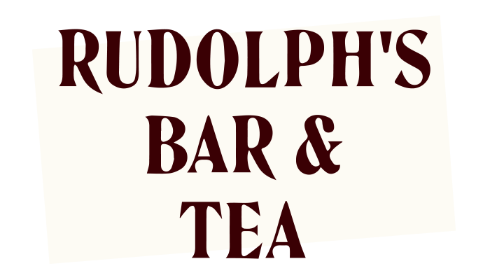 Rudolph's bar & tea logo