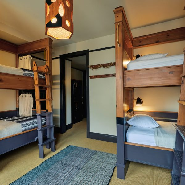Bunk beds in the Freehand Hotel Los Angeles's Shared room