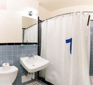 Quad room bathroom