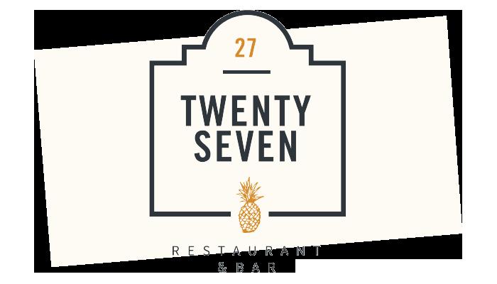 27 restaurant logo