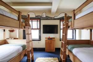 Bunk beds in the Bunk room at Freehand Hotel New York
