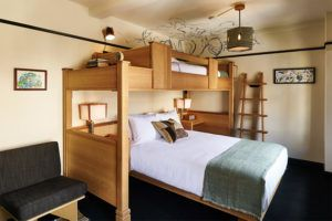 Three's company room at Freehand Hotel New York