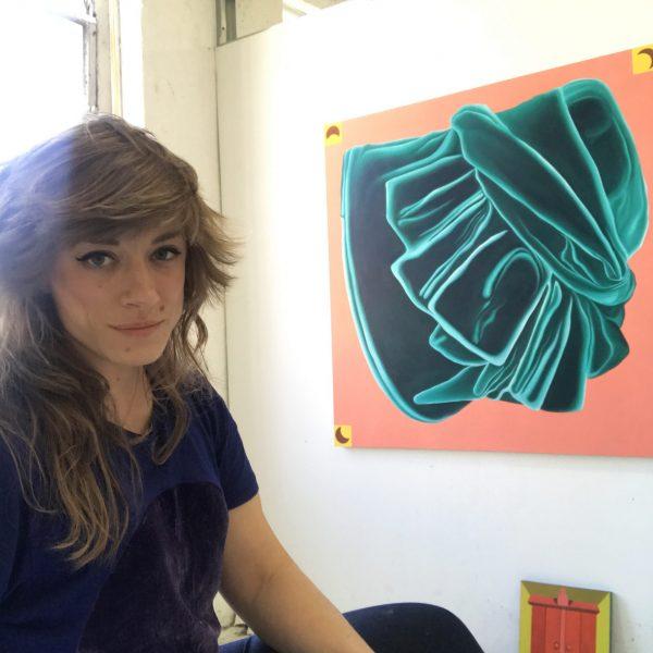 Artist Caitlin MacBride