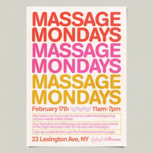 Massage Mondays