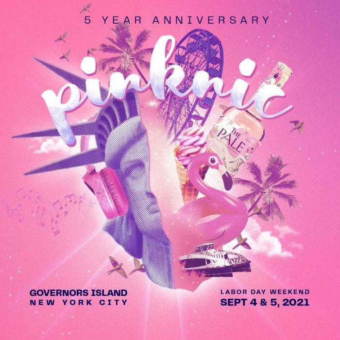 flyer Pinknic festival