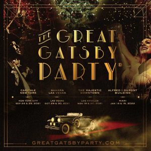 The Great Gatsby Party Flyer