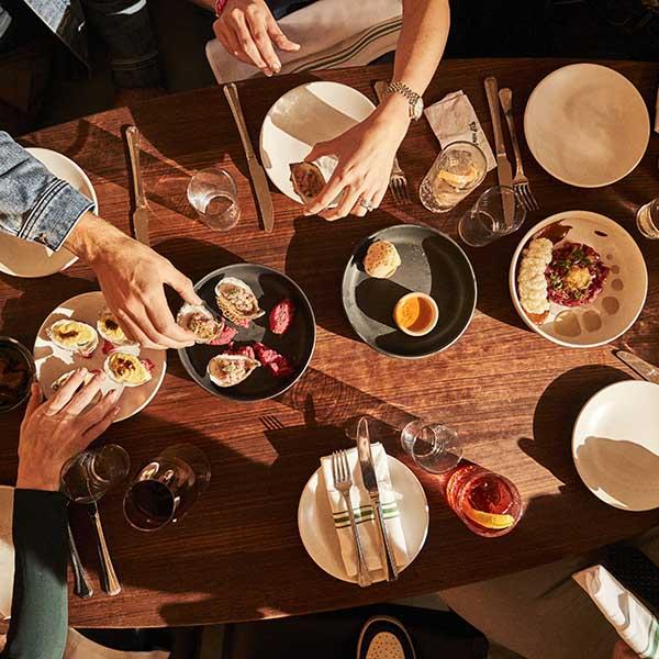 Comodo-New-York-City-Restaurant-shared-food