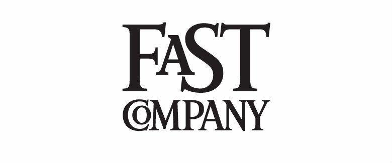 The fast company logo